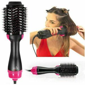 3In1-One-Step-Hair-Dryer-amp-Volumizer-Brush-Straightening-Curler-Iron-Comb-Styling