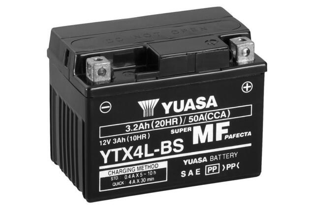 BATERIA Yuasa YTX4L-BS | 12v | 3AH moto | btx4L-bs | ptx4Lbs ytx4Lbs | ¡24h!