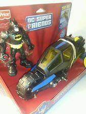 Batman, baticiclo y DVD * Grande * Fisher Price: DC Super Amigos-heroworld
