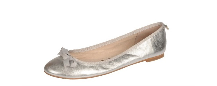 b2574f77b261 ... Sam Edelman Women s Silver Leather Milly Flats Flats Flats 3346 Sz 8 M  725ac8 ...