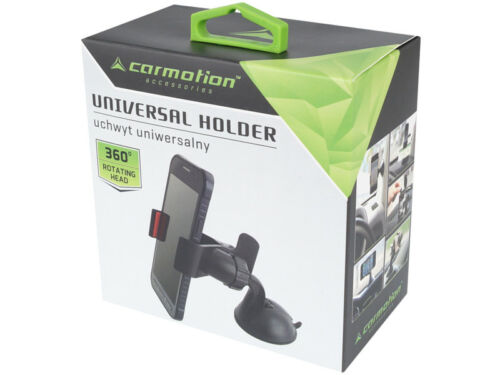 Universal Mobile Holder Carmotion Tablet W// Multi-Angle 360 Degree Rotating Clip