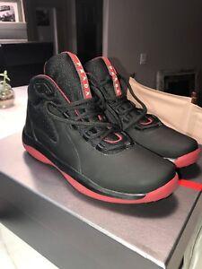 Prada-Punta-Ala-Mens-High-Top-Colorblock-Sneakers-Black-Red-4T2871-MSRP-598