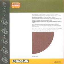 DISCHI CON VELCRO PER TGS 250//E PROXXON MICROMOT COD 28974