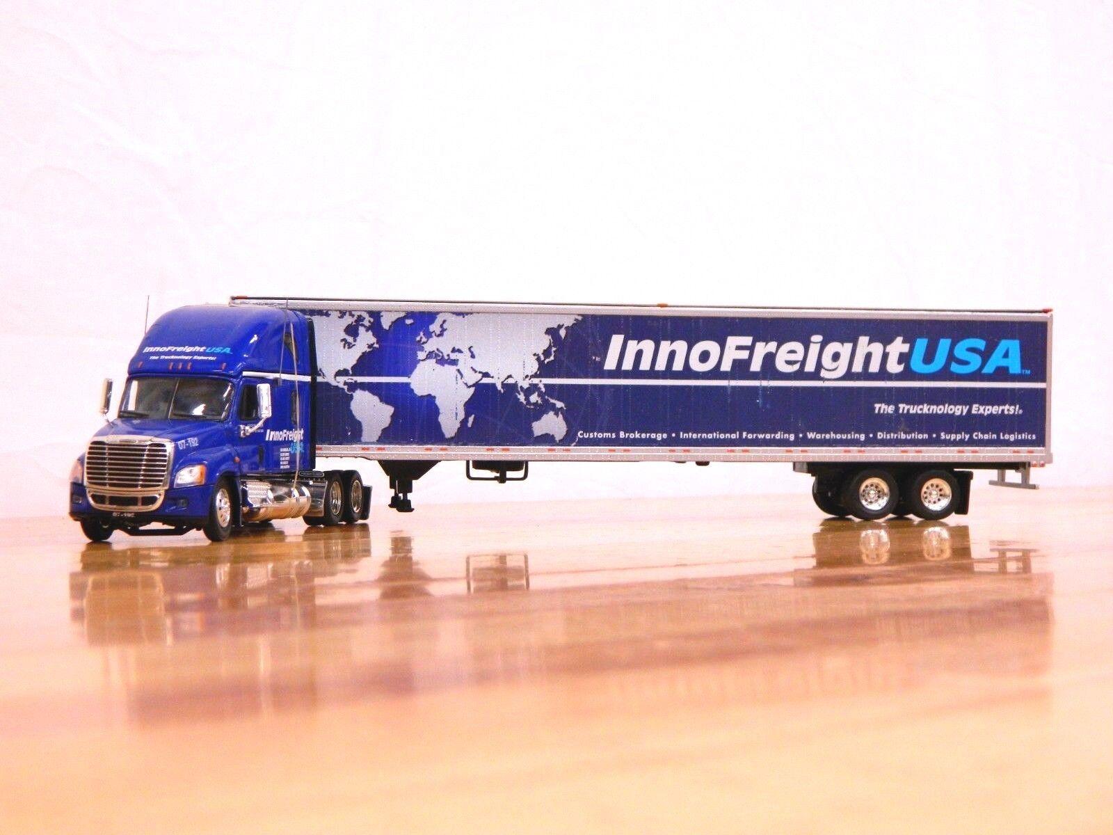 Tonkin Replicas  Inno USA  Freightliner Cascadia de carga con 53' Van Trailer 1 53