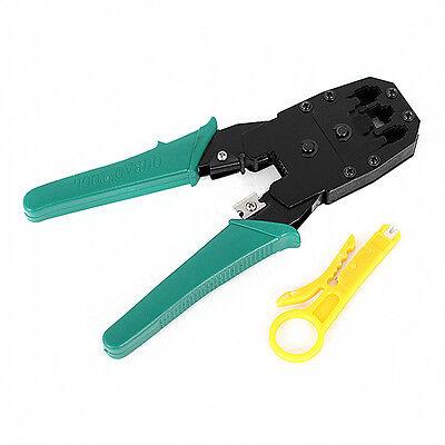 New RJ45 RJ12 RJ11 CAT5 PC Network LAN Wire Cable Crimper Crimp Pliers Tools