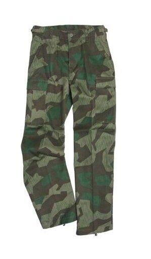 US Ranger BDU Pantalones Splinter Camo - Army Military Cargo Combat Pants Nuevo