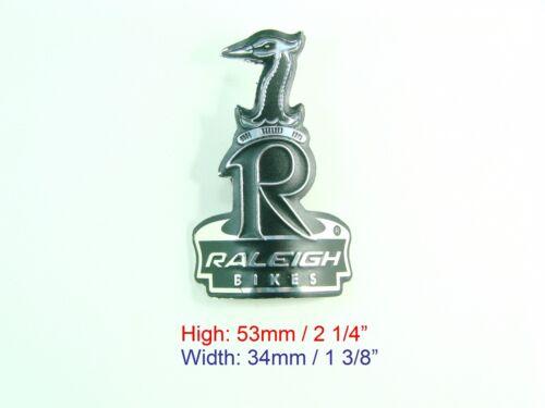 silver Bike New Bicycle Emblem Head Badge RALEIGH