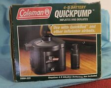Coleman Universal QuickPump for Portable Air Mattress Bed Uses 4D Batteries