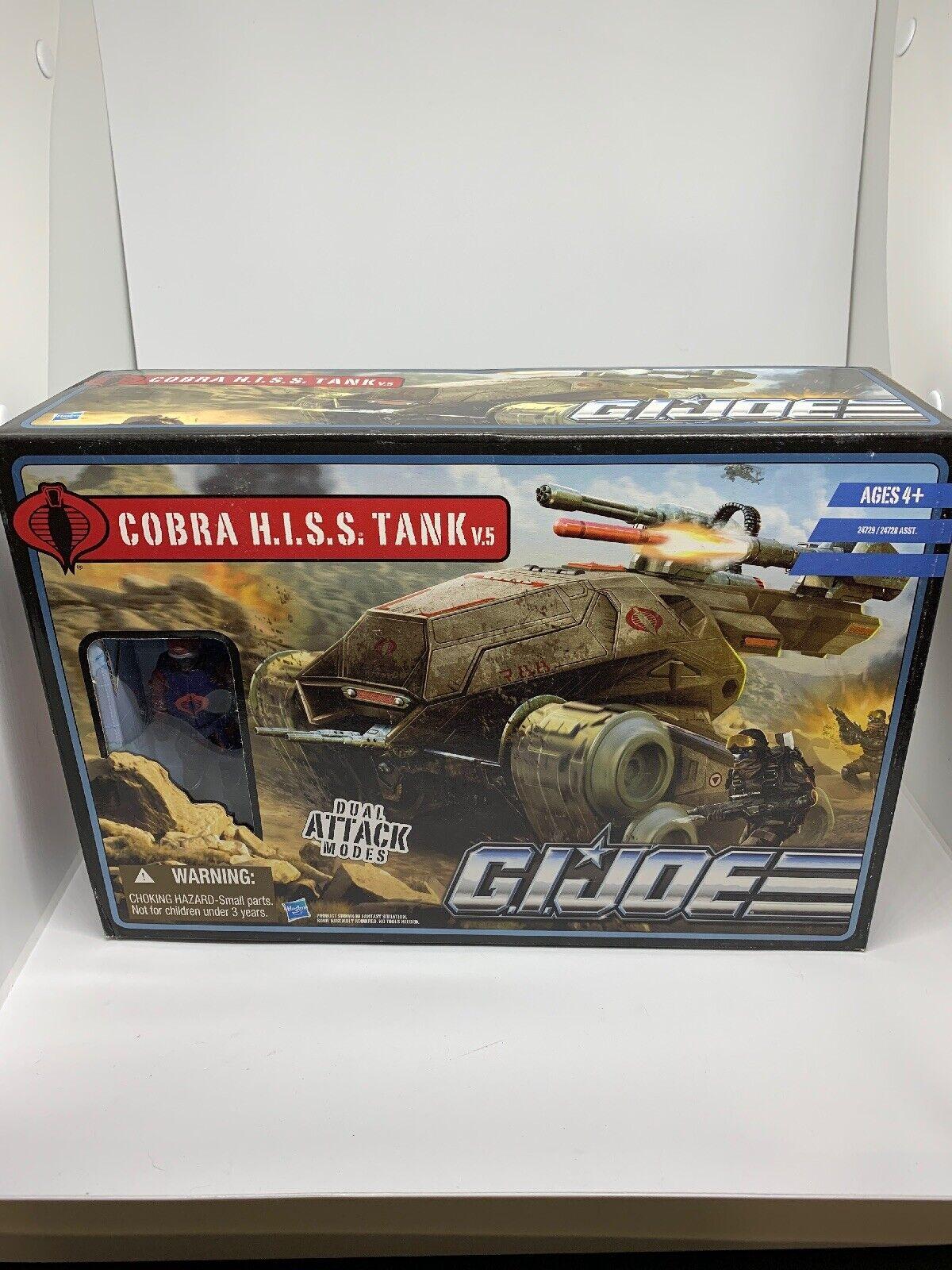 Gi Joe Cobra H.I.S.S Tank In New Sealed Condition