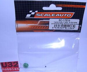 Clever Scaleauto Sc-1721b Riemenscheibe Gezahnt 11 Zähne 1.8mm Achse 3mm Grün Professional Design Elektrisches Spielzeug Spielzeug