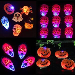 10-25Pcs-Halloween-LED-Flashing-Light-Up-Badge-Brooch-Pins-Party-Decoration-Hot