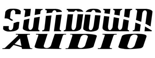 "SELECT SIZE SUNDOWN AUDIO LOGO STICKER VINYL DECAL /""BUY 2 /& GET ONE FREE/"""