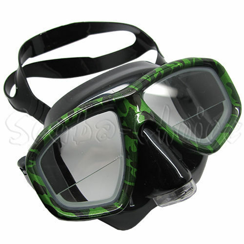 Camouflage Dive Purged Mask  FARSIGHTED Prescription RX 1 3 Optical Lenses  shop now