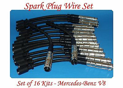 Denso Spark Plug Ignition Wires Set for Chevrolet Avalanche 5.3L V8 ry