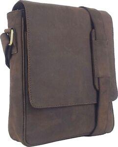 UNICORN-Sacchetto-Cuoio-Genuino-iPad-Tablet-accessori-Borsa-Marrone-6F