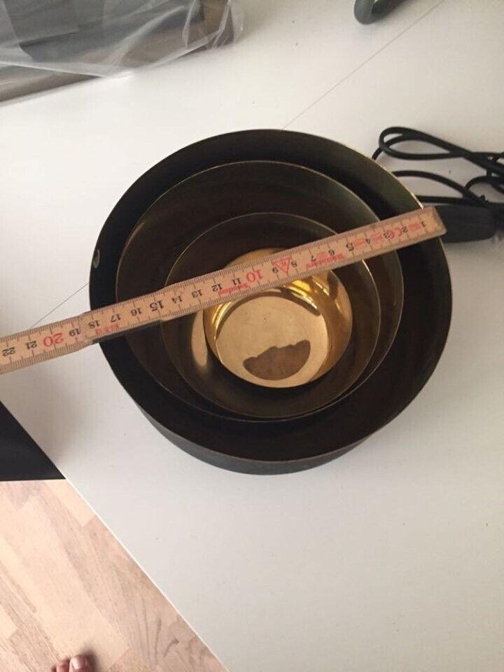 skåle metal / Messing, Muubs design