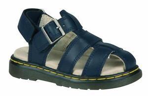 9237aa6e136bfb Dr Martens Chaussures pour Enfants Sandales Moby Bleu Marine ...