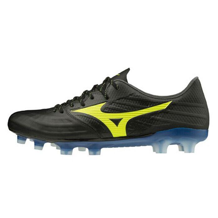 Mizuno Rebula 3 Elite Men's Soccer Shoes Black Blue Football NWT P1GA2062