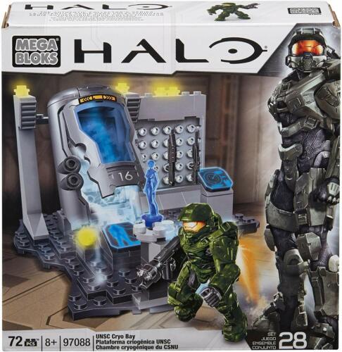 Mega Bloks Halo UNSC Cryo Bay 97088 2013 Rare set Mega CONSTRUX