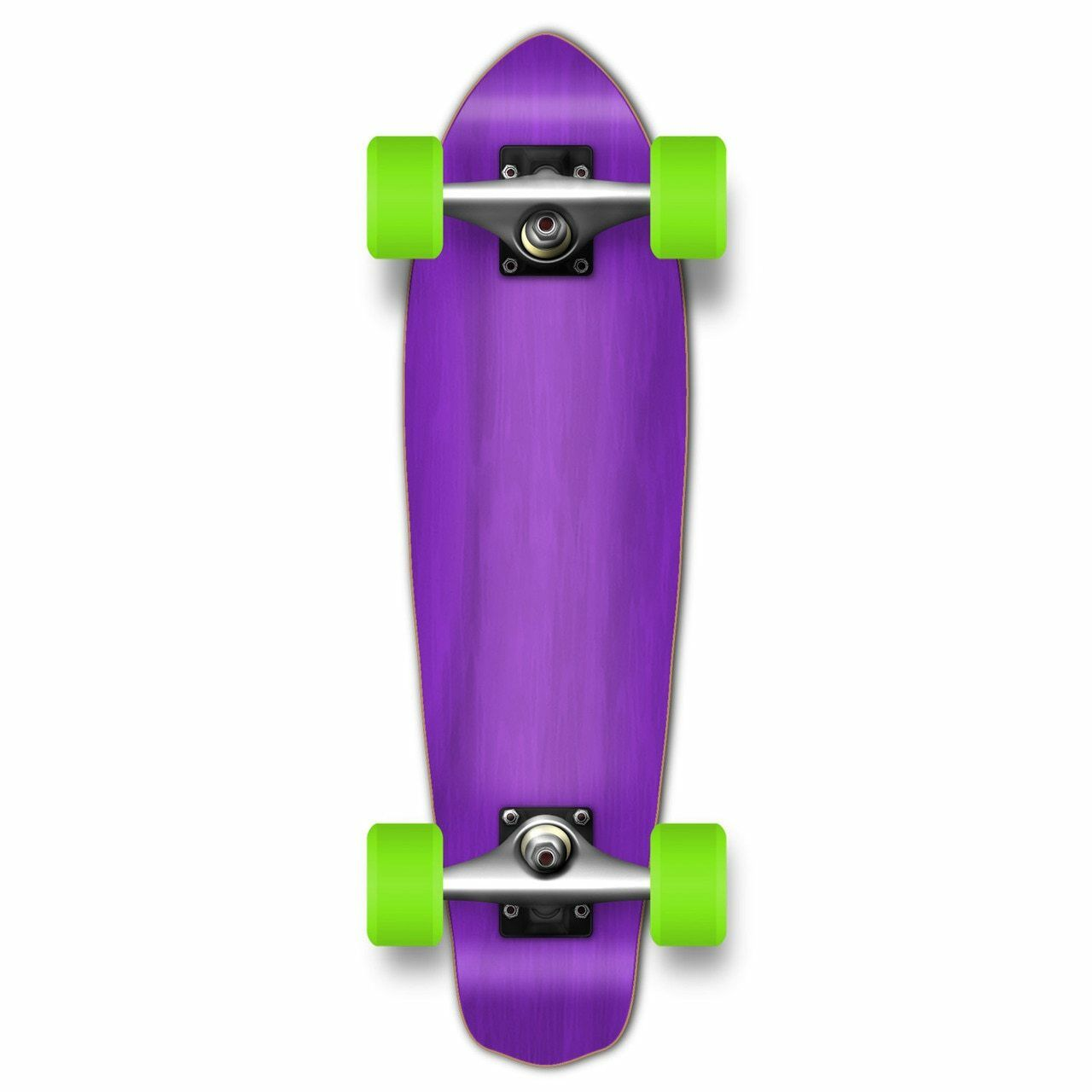 Yocaher Micro Cruiser Blank Complete - Stained Purple