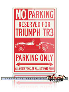 Triumph-TR3-Convertible-Reserved-Parking-Only-Sign-Size-12x18-or-8x12-Aluminum