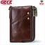 Men-Genuine-Leather-Cowhide-Wallet-Bifold-RFID-Credit-Card-Holder-Zipper-Purse thumbnail 18