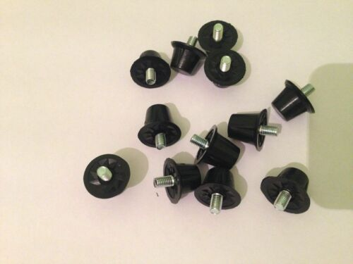 Sports Football Replacement Nylon Screw In Studs Set of 12 in pack New