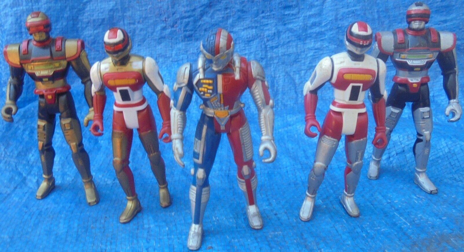 1994 Kenner vr troopers Figurine Lot Ryan Steele Kaitlin Starr JB Reese vintage
