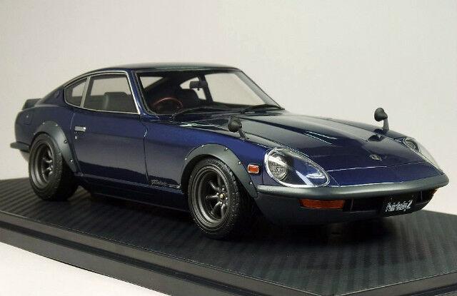 1 18 IG allumage  IG0183 Nissan Fairlady Z-G (HS30) bleu GS