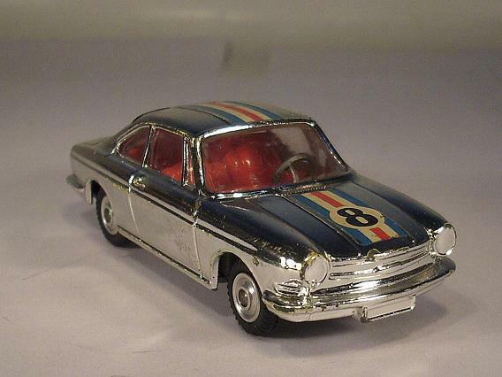 Corgi Toys 315 Simca 1000 COUPE CHROME BOOT NUMBER 8