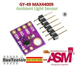 GY-49-MAX44009-Ambient-Light-Sensor