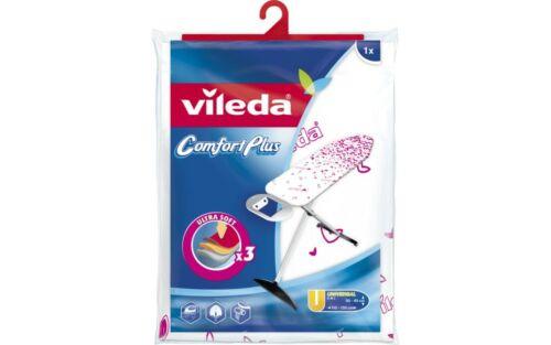 VILEDA Bügeltischbezug Viva Express Comfort Plus 120-130x38-45cm türkis pink s