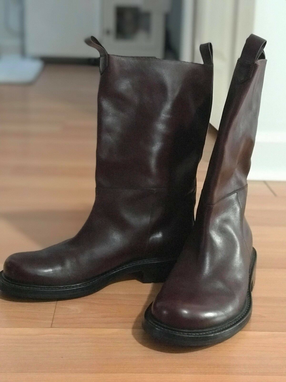 BALLY NEW BOOTS, Made in ITALY, Men, Dark Brown, US Size 9, EU Size 8