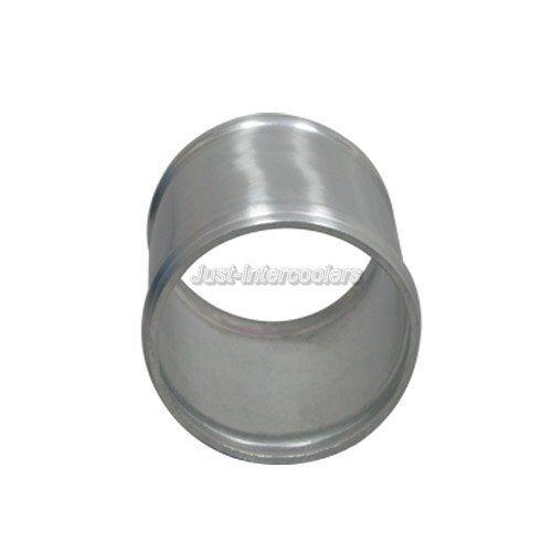 """CXRacing 4/"""" Long 2/"""" Aluminum Joiner Pipe For Intecooler Turbo"""
