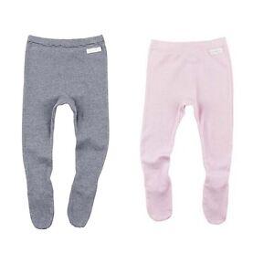 BONDS-Baby-Girl-Fitted-Cotton-Legging-Leggings-PINK-WHITE-Stripes-0000-000-00-0