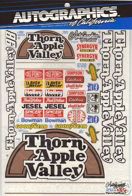 AutoGraphics #609 Thorn Apple Valley 1//10 scale decal
