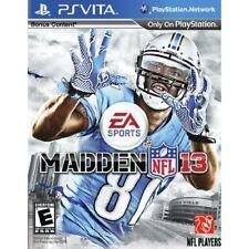 Madden NFL 13 (Sony PlayStation Vita, 2012)