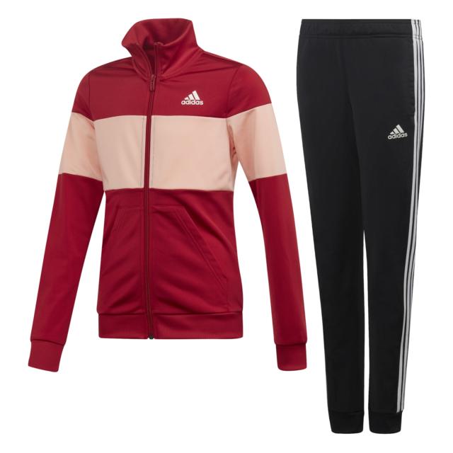 adidas Performance Kinder Trainingsanzug YG PES TS active maroon
