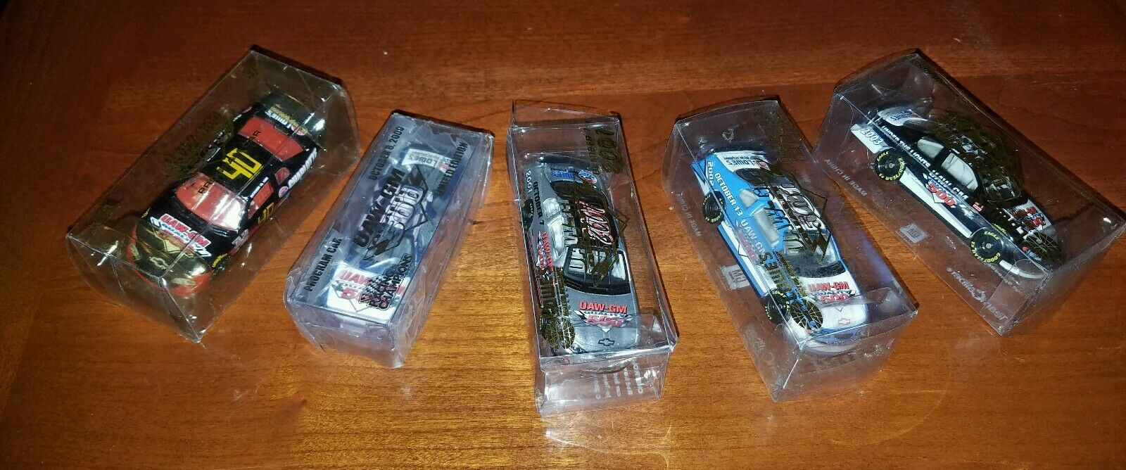 NASCAR UAW-GM 500 Lowes Charlotte Motor Speedway 1 64 1999-03 Program Cars