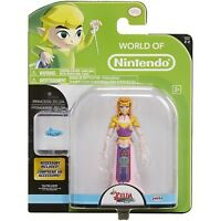 World Of Nintendo - Princess Zelda - 4.25 Inch Figure Jakks Pacific - Light Wear