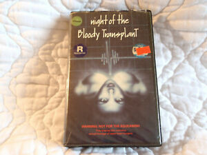 Details about NIGHT OF THE BLOODY TRANSPLANT VHS OPEN HEART SURGERY 60'S  70'S HORROR B-MOVIE
