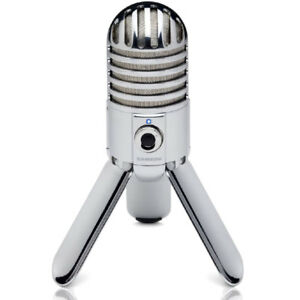 samson meteor mic usb studio microphone large diaphragm built in monitoring ebay. Black Bedroom Furniture Sets. Home Design Ideas