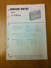 Philips ST7228T Service Manual - Vintage Radio Audio