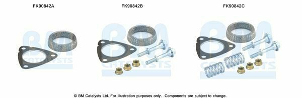FK90842C BM Cats Fitting Kit Cat Convertor