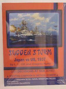 General-Quarters-039-Sudden-Storm-039-Supplement-US-vs-Japan-1937-by-ODGW