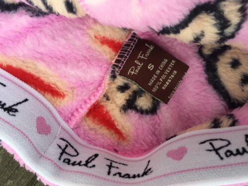 NWT Paul Frank The Vintage Sport Julius Super Plush Sleepshort LOUNGEWEAR Velvet