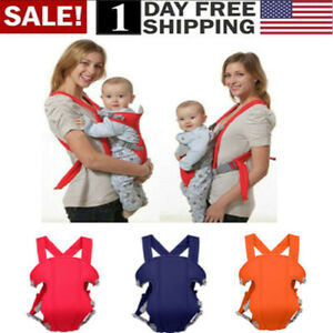 Newborn-Infant-Adjustable-Comfort-Baby-Carrier-Sling-Rider-Backpack-Wrap-Straps