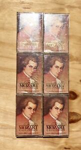 Rare-The-Mozart-Collection-Time-Life-Cassette-Tape-LOT-of-5-Classical-Music