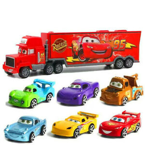7Pcs-Toys-Cars-Cartoon-Action-Figure-Model-Lightning-McQueen-Truck-Kids-Gift
