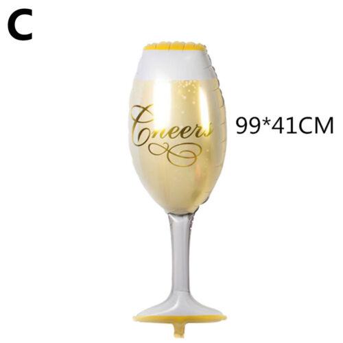 Cup Beer Bottle Shape Champagne Aluminum Foil Balloon Hen Party Supplies Fashion